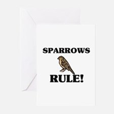 Sparrows Rule! Greeting Cards (Pk of 10)