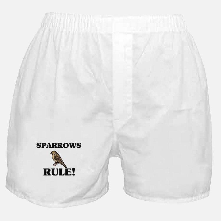 Sparrows Rule! Boxer Shorts