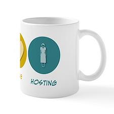 Peace Love Hosting Mug