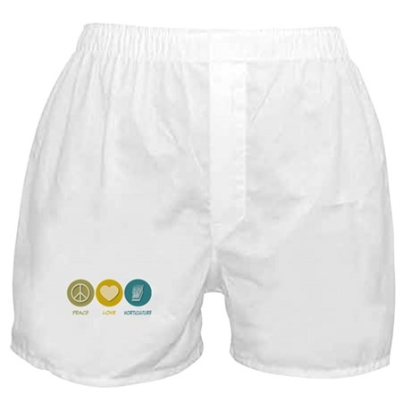 Peace Love Horticulture Boxer Shorts