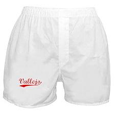 Vintage Vallejo (Red) Boxer Shorts