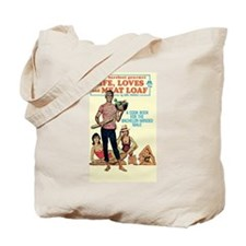 """Tote Bag - """"Life, Loves and Meat Loaf"""""""