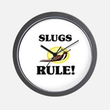 Slugs Rule! Wall Clock