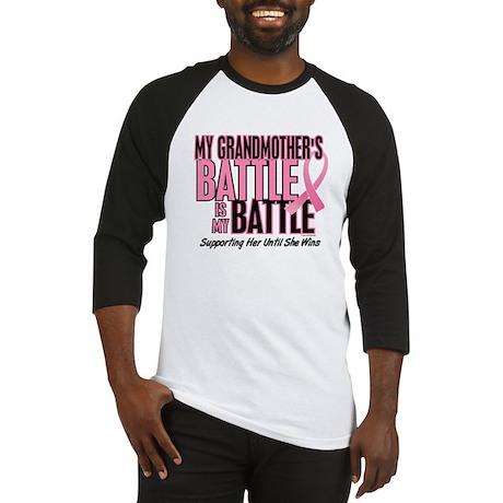 My Battle Too 1 (Grandmother) Baseball Jersey