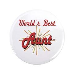 """Starburst Aunt 3.5"""" Button (100 pack)"""