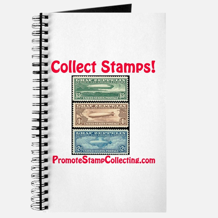 Cute Stamp collecting Journal