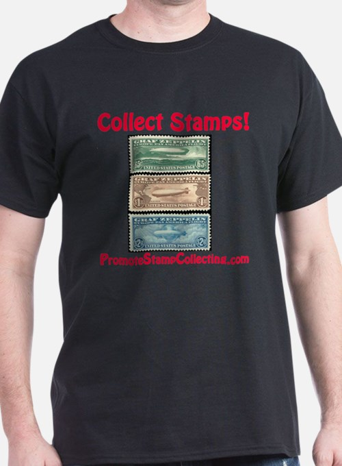 Cute Stamp collecting T-Shirt