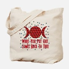 Wiccan Karma Tote Bag