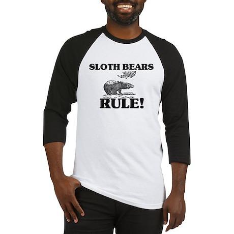 Sloth Bears Rule! Baseball Jersey