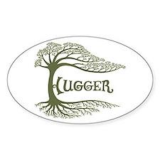 Hugger II Oval Decal