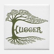 Hugger II Tile Coaster