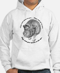 Pigs Look You Square in the Eye Hoodie
