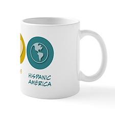 Peace Love Hispanic-American Studies Mug