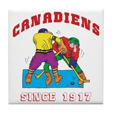 Canadiens Tile Coaster