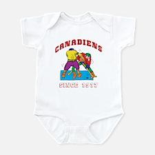 Canadiens Infant Creeper