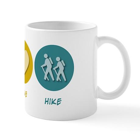 Peace Love Hike Mug