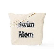Swim Mom II BnW Tote Bag