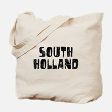 South Holland Faded (Black) Tote Bag