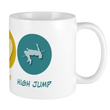 Peace Love High Jump Mug