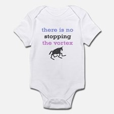 No stopping the vortex Infant Bodysuit