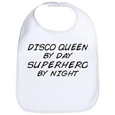 Disco Queen Superhero by Night Bib