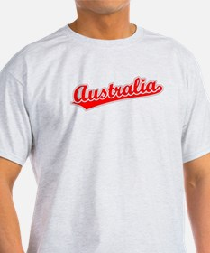 Retro Australia (Red) T-Shirt