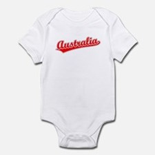 Retro Australia (Red) Infant Bodysuit