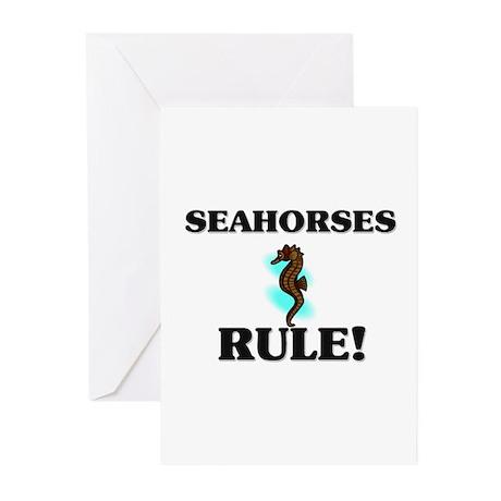 Seahorses Rule! Greeting Cards (Pk of 10)