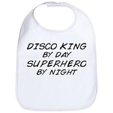 Disco King Superhero by Night Bib