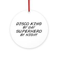 Disco King Superhero by Night Ornament (Round)