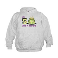 Fifth Birthday Hoodie