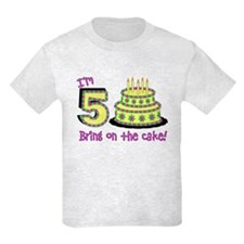 Fifth Birthday T-Shirt