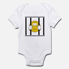 Prisoner Smiley Face Infant Bodysuit