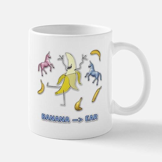 Banana --> Ear Mug