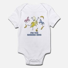 Banana King Infant Bodysuit