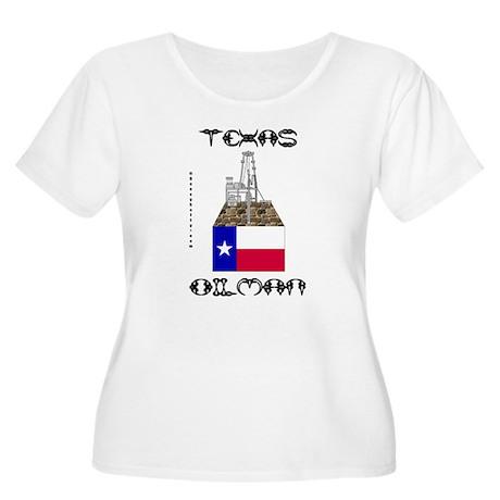 Texas Oilman Women's Plus Size Scoop Neck T-Shirt