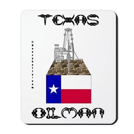 Texas Oilman Mousepad