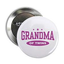 "Grandma of Twins 2.25"" Button"