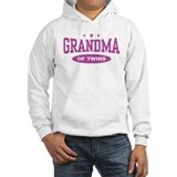 Grandma of twins Light Hoodies