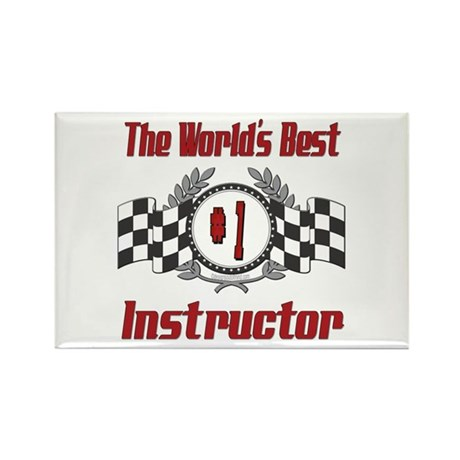 Racing Instructor Rectangle Magnet (100 pack)
