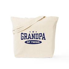 Grandpa of Twins Tote Bag