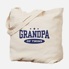 Grandpa of Twins Tote Bag
