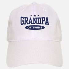 Grandpa of Twins Baseball Baseball Cap