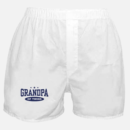 Grandpa of Twins Boxer Shorts