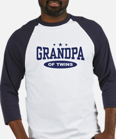 Grandpa of Twins Baseball Jersey