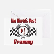 Racing Grammy Greeting Card