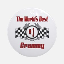 Racing Grammy Ornament (Round)