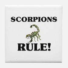 Scorpions Rule! Tile Coaster