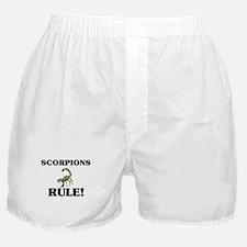 Scorpions Rule! Boxer Shorts