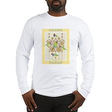 "Gouldian Finch ""Marigouldian"" Long Sleeve T-Shirt"